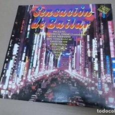 Discos de vinilo: SENSACION DE BAILAR (LP) (VER FOTO CONTENIDO COMPLETO) AÑO – 1992 – DOBLE DISCO. Lote 194346860