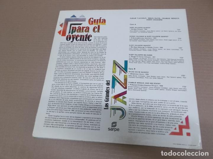 Discos de vinilo: LOS GRANDES DEL JAZZ 2 (LP) (VER FOTO CONTENIDO COMPLETO) AÑO – 1980 - Foto 2 - 194347513