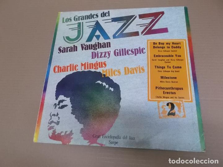 LOS GRANDES DEL JAZZ 2 (LP) (VER FOTO CONTENIDO COMPLETO) AÑO – 1980 (Música - Discos - LP Vinilo - Jazz, Jazz-Rock, Blues y R&B)