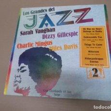 Discos de vinilo: LOS GRANDES DEL JAZZ 2 (LP) (VER FOTO CONTENIDO COMPLETO) AÑO – 1980. Lote 194347513