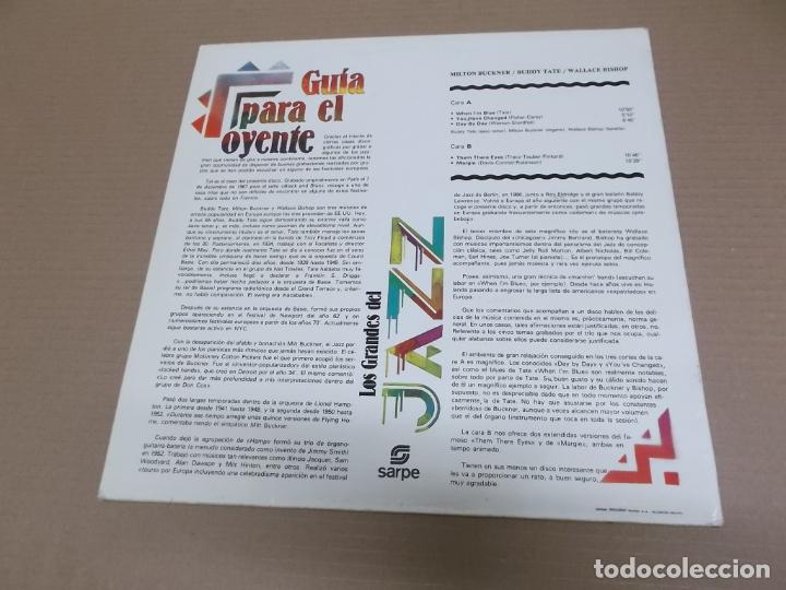 Discos de vinilo: LOS GRANDES DEL JAZZ 13 (LP) (VER FOTO CONTENIDO COMPLETO) AÑO – 1980 - Foto 2 - 194347593