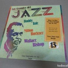 Discos de vinilo: LOS GRANDES DEL JAZZ 13 (LP) (VER FOTO CONTENIDO COMPLETO) AÑO – 1980. Lote 194347593