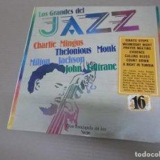 Discos de vinilo: LOS GRANDES DEL JAZZ 16 (LP) (VER FOTO CONTENIDO COMPLETO) AÑO – 1980. Lote 194347717