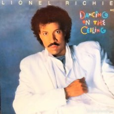 Discos de vinilo: LP VINILO LIONEL RICHIE:DANCING ON THE CEILING, USA 1986, GATEFOLD,COMO NUEVO, CORTE IMPORT(VG+_EX). Lote 194347722