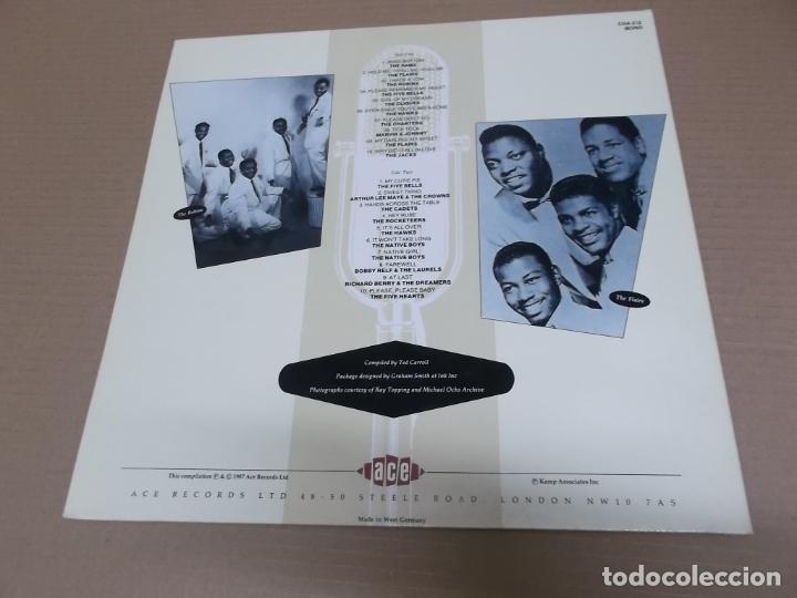 Discos de vinilo: THE FIFTIES R&B VOCAL GROUPS (LP) (VER FOTO CONTENIDO COMPLETO) AÑO – 1987 – PORTADA ABIERTA - Foto 3 - 194347835