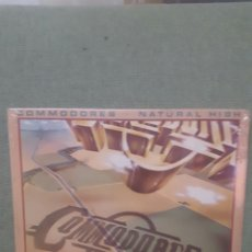 Discos de vinilo: COMODORES NATURAL HIGH LP MOTOWN. Lote 194349032
