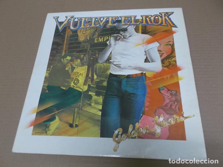 VUELVE EL ROK – GOLDEN YEARS (LP) (VER FOTO CONTENIDO COMPLETO) AÑO – 1980 - PROMOCIONAL (Música - Discos - LP Vinilo - Rock & Roll)