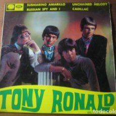 Discos de vinilo: TONY RONALD - RUSSIAN SPY AND I + 3 ******** RARO EP MOD GARAGE 1966. Lote 194349406