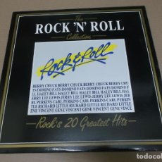 Discos de vinilo: THE ROCK'N'ROLL COLLECTION (LP) (VER FOTO CONTENIDO COMPLETO) AÑO – 1984 – EDICION ITALIA. Lote 194349446
