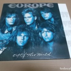 Discos de vinilo: EUROPE (LP) OUT OF THIS WORLD AÑO – 1988 - ENCARTE CON LETRAS. Lote 194349538