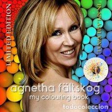 Discos de vinilo: AGNETHA (ABBA) - MY COLOURING BOOK (VINILO MULTICOLOR SALPICADO TRANSPARENTE). Lote 194352323