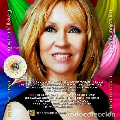Discos de vinilo: Agnetha (ABBA) - My Colouring Book (vinilo multicolor salpicado transparente) - Foto 2 - 194352323