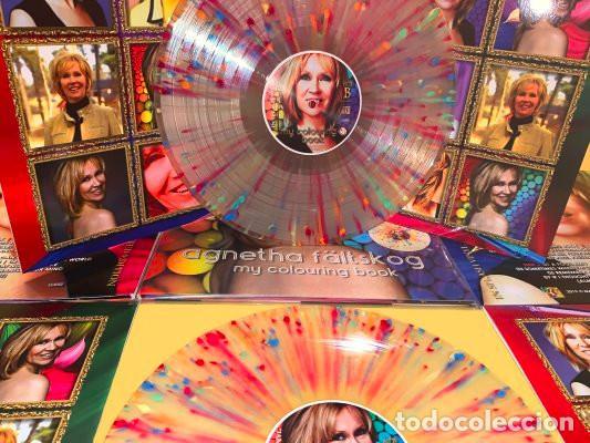Discos de vinilo: Agnetha (ABBA) - My Colouring Book (vinilo multicolor salpicado transparente) - Foto 6 - 194352323