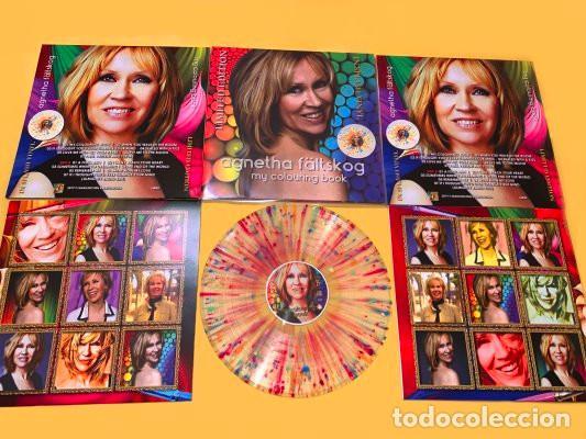 Discos de vinilo: Agnetha (ABBA) - My Colouring Book (vinilo multicolor salpicado transparente) - Foto 9 - 194352323