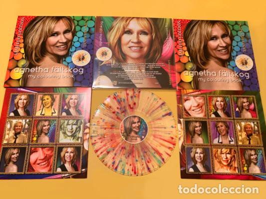 Discos de vinilo: Agnetha (ABBA) - My Colouring Book (vinilo multicolor salpicado transparente) - Foto 12 - 194352323