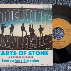 Discos de vinilo: THE BLUE RIDGE RANGERS - HEARTS OF STONE / SOMEWHERE LISTENING . EDITADO POR MARFER . AÑO 1.973. Lote 194353260