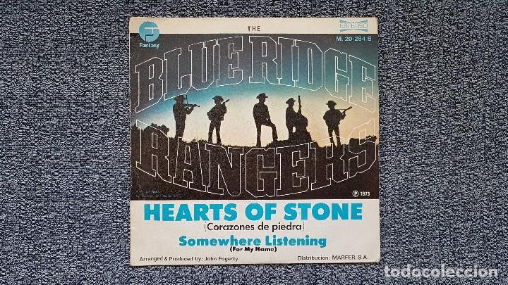 Discos de vinilo: The Blue Ridge Rangers - Hearts of stone / Somewhere listening . Editado por Marfer . año 1.973 - Foto 3 - 194353260