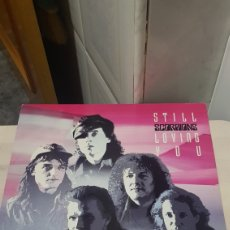 Discos de vinilo: LP STILL SCORPIONS LOVING YOU. Lote 194355028