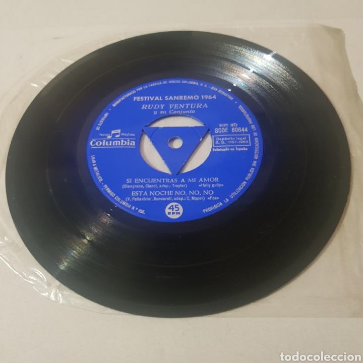 Discos de vinilo: RUDY VENTURA Y SU CONJUNTO- FESTIVAL DE SAN REMO 1964 - Foto 3 - 194355277
