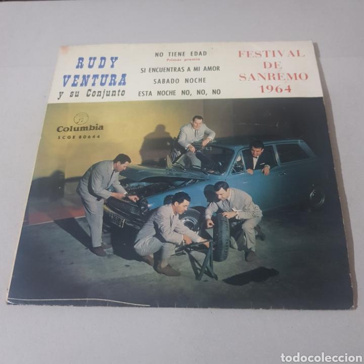 Discos de vinilo: RUDY VENTURA Y SU CONJUNTO- FESTIVAL DE SAN REMO 1964 - Foto 5 - 194355277