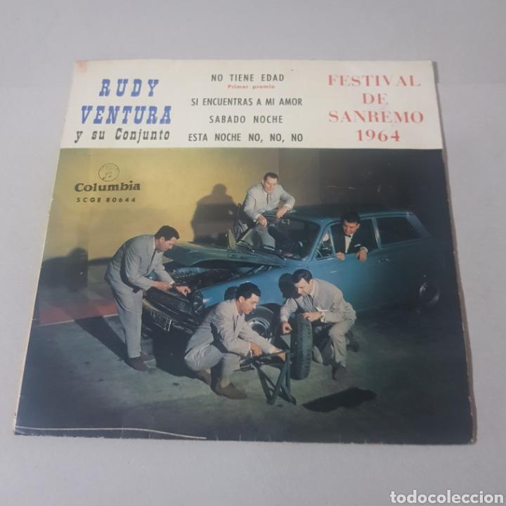 RUDY VENTURA Y SU CONJUNTO- FESTIVAL DE SAN REMO 1964 (Música - Discos - Singles Vinilo - Otros Festivales de la Canción)