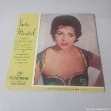 Discos de vinilo: SARITA MONTIEL - CANCIONES DE LA PELICULA EL ULTIMO CUPLÉ. Lote 194355527