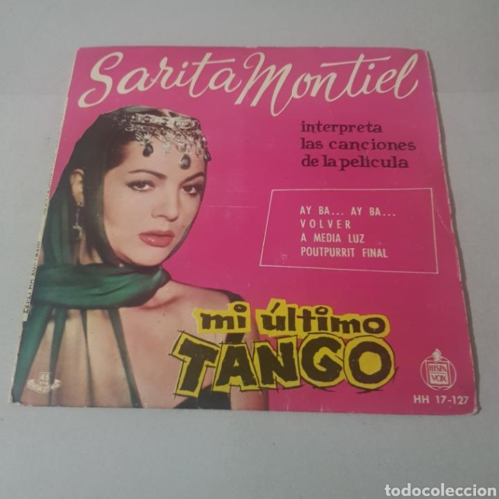 SARITA MONTIEL - CANCIONES DE LA PELICULA MI ULTIMO TANGO (Música - Discos - Singles Vinilo - Flamenco, Canción española y Cuplé)