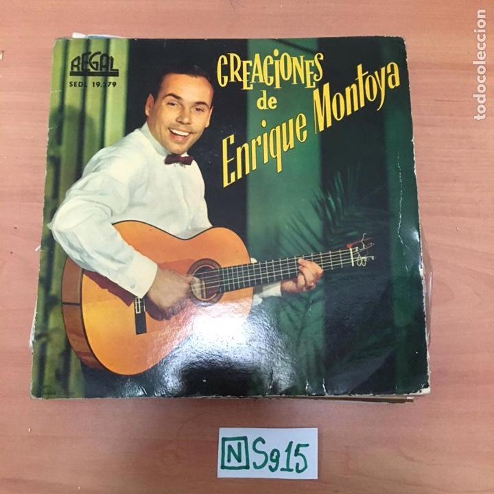 CREACIONES DE ENRIQUE MONTOYA (Música - Discos - Singles Vinilo - Otros estilos)