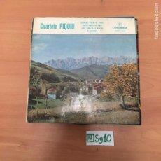 Discos de vinilo: CUARTETO PIQUIO. Lote 194358060