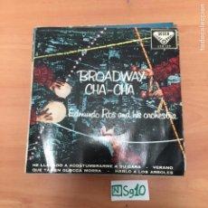 Discos de vinilo: BROADWAY CHA CHA. Lote 194358073