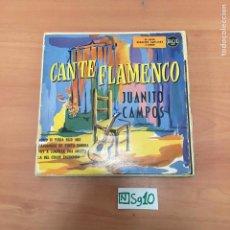 Discos de vinilo: CANTE FLAMENCO. Lote 194358145