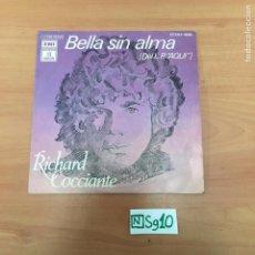 Discos de vinilo: BELLA SIN ALMA. Lote 194358192