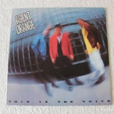 Discos de vinilo: AGENT ORANGE: THIS IS THE VOICE - LP. ENIGMA 1986. Lote 194359422