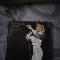 Discos de vinilo: RAFAELLA CARRA RUMORE. Lote 194363262