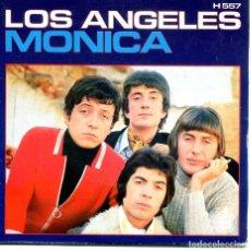 Discos de vinilo: LOS ANGELES / MONICA / TE PRESENTI (SINGLE 1970). Lote 194363447