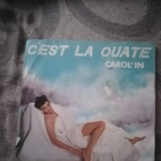 Discos de vinilo: CAROL´IN: CÉST LA OUATE REMIX, MAXISINGLE HIGH FASHION MUSIC MS 280, NETHERLANDS, 1987. Lote 194363911