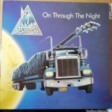 Discos de vinilo: DISCO VINILO DEF LEPPARD-ON THROUGH THE NIGHT.. Lote 194363933
