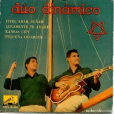Discos de vinilo: DUO DINAMICO / KANSAS CITY + 2 (EP 1960) VINILO ROSA. Lote 194363970