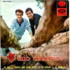 Discos de vinilo: DUO DINAMICO / EL OLE + 3 (EP 1965). Lote 194364061