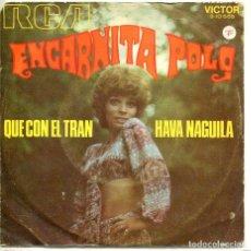 Disques de vinyle: ENCARNITA POLO (SOLO CARATULA). Lote 194364231