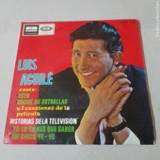 Discos de vinilo: LUIS AGUILE - ESTO - NOCHE DE ESTRELLAS - TU LO TIENES QUE SABER - CHICO YE YE. Lote 194364447