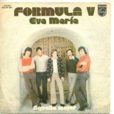 Discos de vinilo: FORMULA V (SOLO CARATULA). Lote 194364528