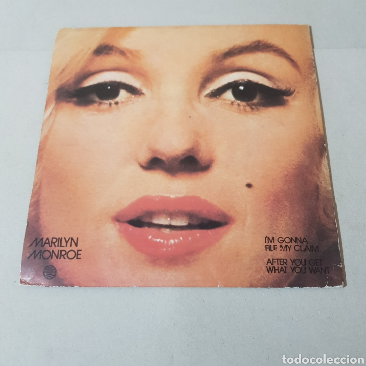 Discos de vinilo: MARILYN MONROE - IM GONNA - FILE MY CLAIM - AFTER YOU GET - WHAT YOU WANT - Foto 2 - 194364923
