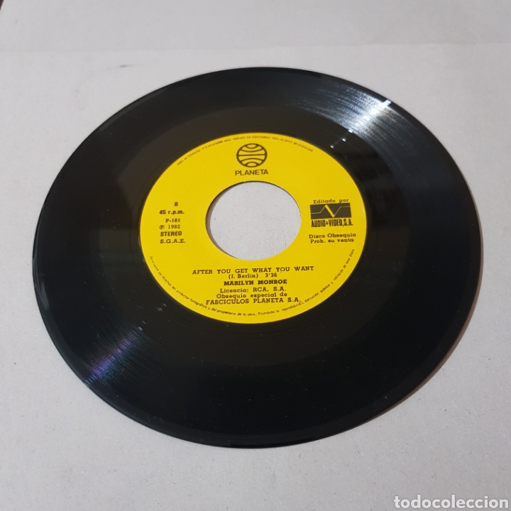 Discos de vinilo: MARILYN MONROE - IM GONNA - FILE MY CLAIM - AFTER YOU GET - WHAT YOU WANT - Foto 3 - 194364923