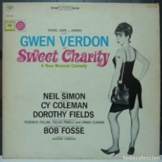 Discos de vinilo: SWEET CHARITY // GWEN VERDON // BOB FOSSE // MADE IN USA //(VG VG).LP. Lote 194365043