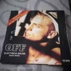 Discos de vinilo: OFF, ELECTRICA SALSA (BABA BABA) LP. Lote 194365381
