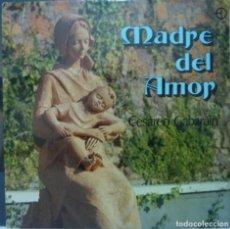 Discos de vinilo: MADRE DEL AMOR // CESAREO GABARAIN //(VG VG). LP. Lote 194365488