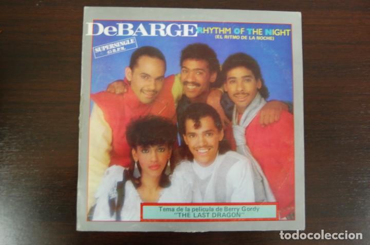 DEBARGE -RHYTHM OF THE NIGTH- (Música - Discos de Vinilo - Maxi Singles - Bandas Sonoras y Actores)