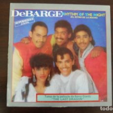 Discos de vinilo: DEBARGE -RHYTHM OF THE NIGTH-. Lote 194365527