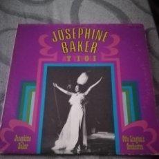 Discos de vinilo: JOSEPHINE BAKER AT TIVOLI LP. Lote 194365545